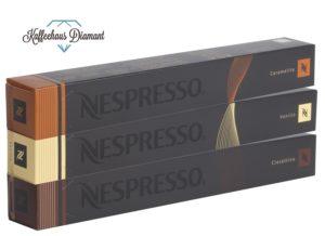 capsule compatibili NESPRESSO Espresso Trio Vanilio, Caramelito, Ciocattino