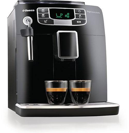 Saeco HD8751-95 Macchina Espresso automatica Intelia Evo Black