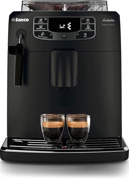 Saeco HD8900-01 Macchina-Espresso-Automatica-Intelia-Evo Deluxe Black Classic Pannarello