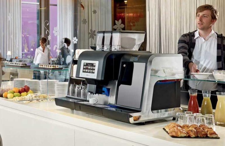 Hacchina caffè automatica hotel