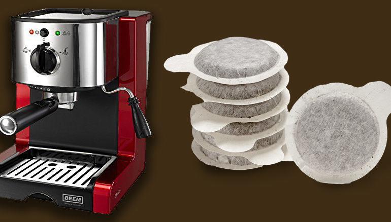 Macchina da caffè a cialde professionale